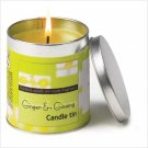 GINGER & GINSENG CANDLE TIN