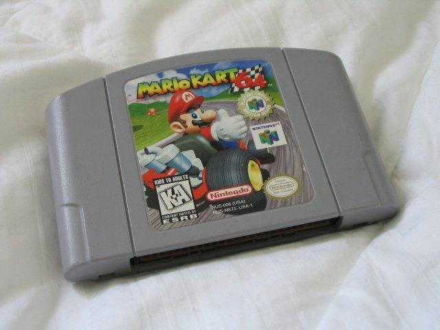 Mario Kart 64 - Nintendo 64 N64