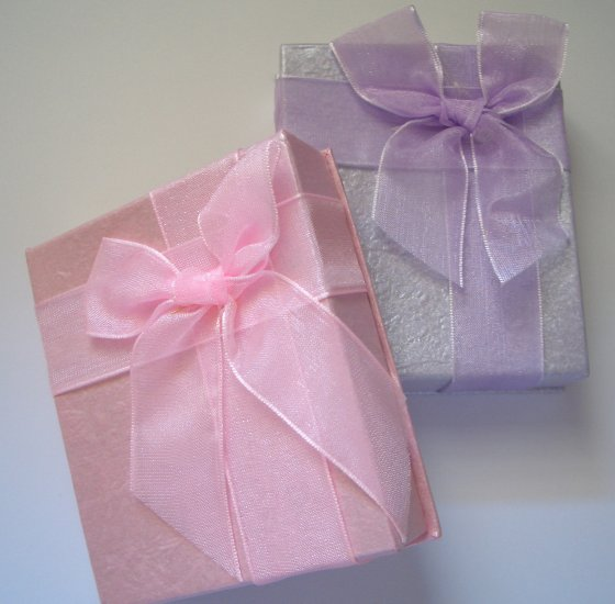 Gift Boxes - Satin Ribbon