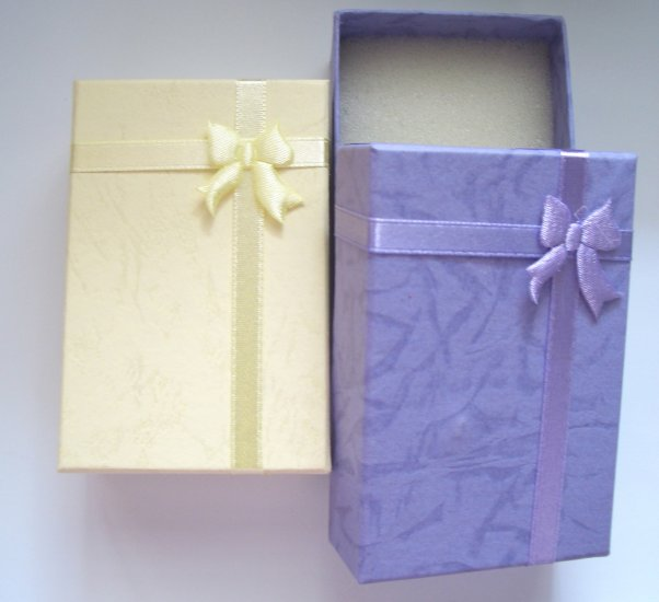 Gift Boxes - Foam Ribbon