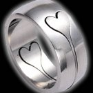 Puzzle Ring with Heart (RSSC-21)