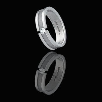 Band With CZ Design (RSS-10)