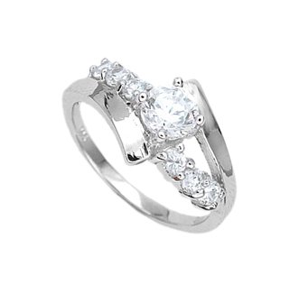 Sterling Silver with CZ ring (2310104)