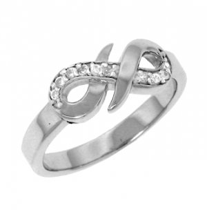 Sterling Silver with CZ (23109)