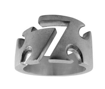 Pewter Ring with 7 Design (PRN-24)