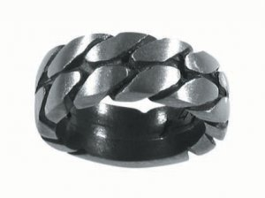 Pewter Ring with Chained LInks(PPR-23)