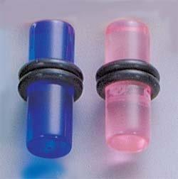 Ear plugs sizes 6 ga-  2 ga (VPO)