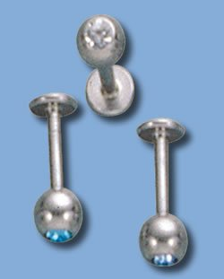 Labret with stone (JLS)