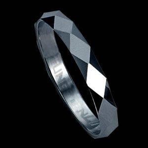 Diamond-Cut Tungsten Carbide Ring Design ( RTS-2)