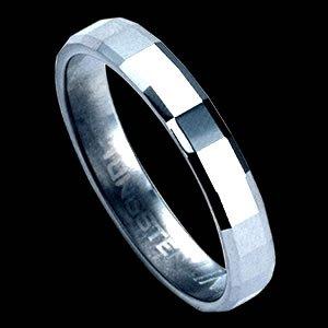 Diamond-Cut Tungsten Carbide Ring Design (RTS-7)