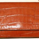 Cognac Leather Purse From Adrienne Vittadini