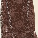 Silk and Velvet Skirt