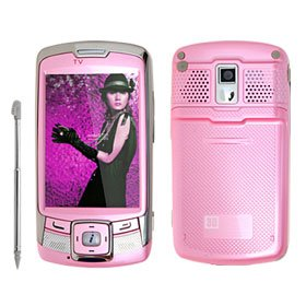 """Nautilus"""" Bluetooth 3 inch TFT Touch Screen PDA 2.0 Mega Camera MP4 MP3 Mobile Phone -pink"""