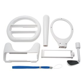 Mega Sport Accessories Pack for Nintendo Wii Remote