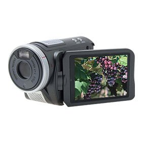 "YOKO 3.0"" Twisted TFT 5.0 Megapixel CMOS MP3 Camera Camcorder"
