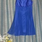 VINTAGE 70'S PROM ZUM ZUM MINI PARTY 7/8 CHIFFON DRESS
