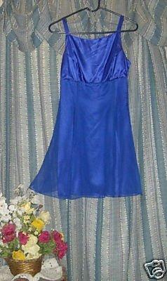 VINTAGE 70'S PROM ZUM ZUM MINI PARTY 7/8 CHIFFON DRESS