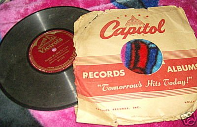 VINTAGE VICTROLA 1908 NEARED MY GOD TO THEE 1 SIDED