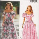 Misses' Evening Length Dress Sewing Pattern Size 14-18 Butterick 6866 UNCUT