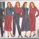 Misses' Jacket Top Skirt Pants J G Hook Sewing Pattern Size 12-16 Butterick 5705 UNCUT