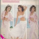 Misses' Shirt Bra Pants Skirt Sewing Pattern Size 6-10 Butterick 5674 UNCUT