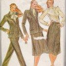 Misses' Jacket Blouse Skirt Pants Evan Picone Sewing Pattern Size 8 Butterick 3325 UNCUT