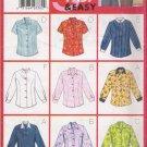 Misses' Blouse Sewing Pattern Size 8-12 Butterick 5766 UNCUT