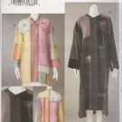 Misses' Marcy Tilton Jacket Coat Sewing Pattern Size S-M Vogue 7663 UNCUT