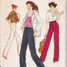 Vintage Sewing Pattern Misses' Narrow Pants Size  26 1/2 Vogue 7020 UNCUT