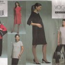 Misses' Maternity Top Dress Skirt Pants Sewing Pattern Size 6-10 Vogue 2818 UNCUT