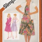 Vintage Sewing Pattern Misses' Fitted Sundress Unlined Jacket Size 14 Simplicity 9949 UNCUT