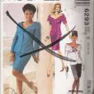 Misses' Two Piece Dresses Sewing Pattern Size 12-16 McCall's 6293 UNCUT