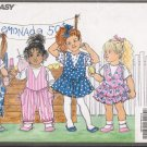 Children's Jumper & Jumpsuit Sewing Pattern Size 5-6x Butterick 5473 UNCUT