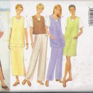 Misses' Vest Jumper Tunic Top Skirt Pants Sewing Pattern Size 6-10 Butterick 5468 UNCUT