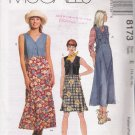 Misses' Dress Or Jumper In Two Lengths Sewing Pattern Size 14-18 McCall's 8173 UNCUT
