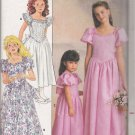 Children's / Girls' Dress Sewing Pattern Size 4-6 Butterick 4672 UNCUT