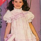 Children's Dress Sewing Pattern Size 5-6X Butterick 5418 UNCUT