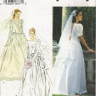 Misses' Wedding Dress Sewing Pattern Size 10-14 Simplicity 8240 UNCUT