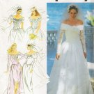 Misses' Wedding & Bridesmaids' Dress Sewing Pattern Size 8-14 Simplicity 7919 UNCUT