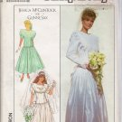 Misses' Wedding & Bridesmaids' Dress Sewing Pattern Size 12 Simplicity 9009 UNCUT