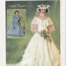 Vintage Sewing Pattern Misses' Brides' Or Bridesmaids' Wedding Dress Size 12 Simplicity 6765 UNCUT