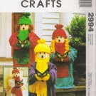 Caroler Dolls Christmas Sewing Pattern McCall's 2994 UNCUT