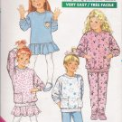 Children's Dress Top Skirt Pants Sewing Pattern Size 5-6X Butterick 5920 UNCUT