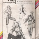 Vintage Sewing Pattern Pants Knickers Collection Hip Sizes 30-46 Stretch & Sew 738 UNCUT