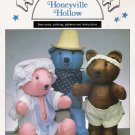 Honeyville Hollow Teddy Bear Sewing Book by Rainbow Chasers