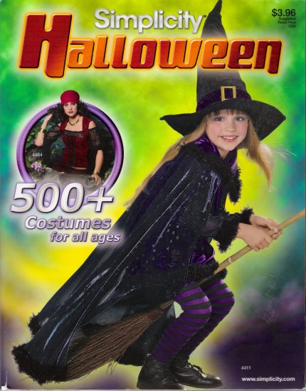 Simplicity Halloween Sewing Pattern Catalog