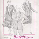 Vintage Sewing Pattern And Book Misses' Basic Blazer Size 8-18 Blazers Made Easy 1001 UNCUT