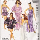 Misses' Sleepwear Sewing Pattern Size 6-8 McCall's 5661 UNCUT