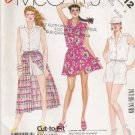 Misses' Jumpsuit & Skirt Sewing Pattern Size 6-10 McCall's 2512 UNCUT