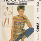 Vintage Sewing Pattern Misses' Cover-Up Size 14-16 McCall's 7945 UNCUT